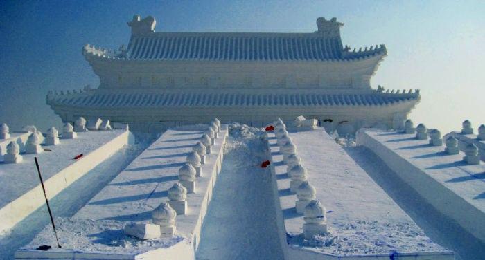 Harbin festival di ghiaccio e neve