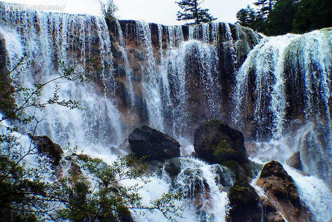 jiuzhaigou cascata