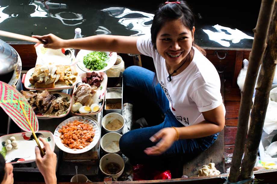 mercati flottanti, Bangkok