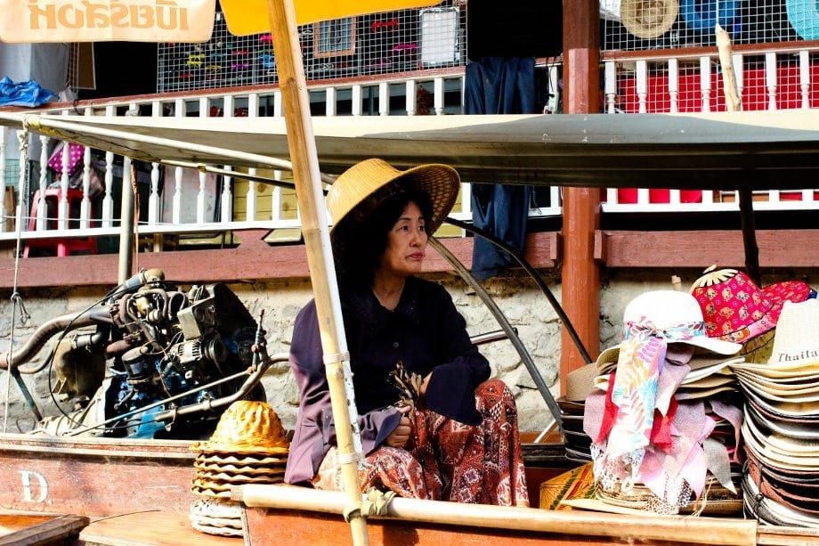 mercati galleggianti, Bangkok