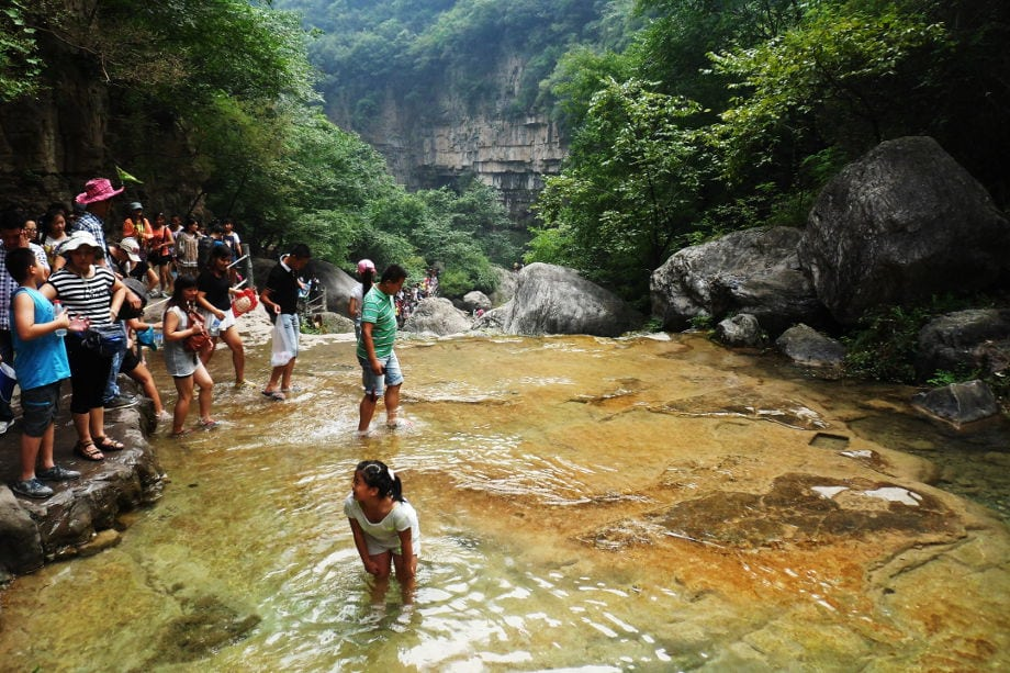 Monte Yuntai, Henan, Cina