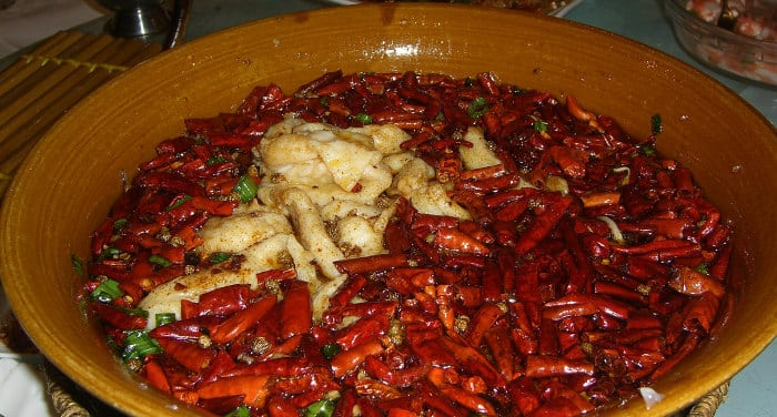 cibo dallo sichuan
