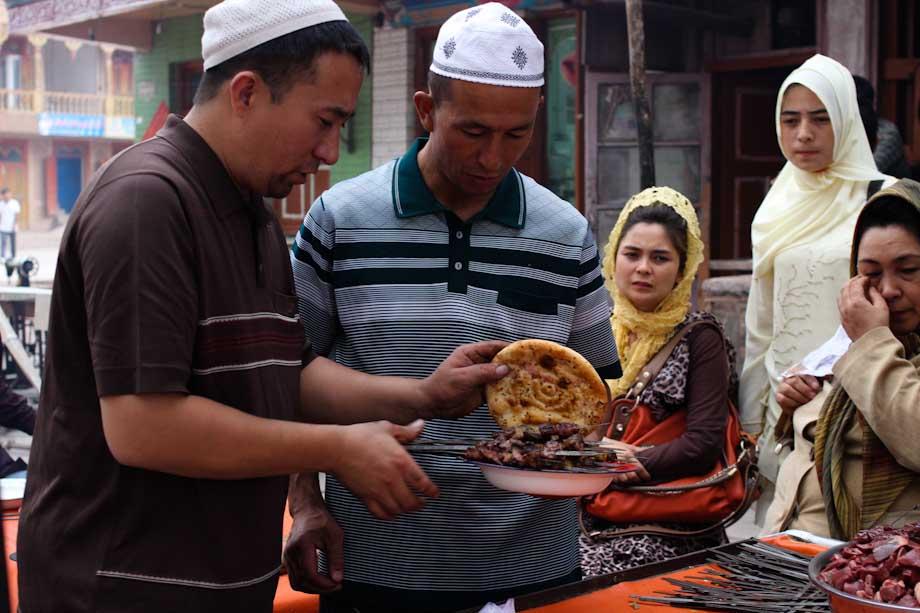 Mercato di Kashgar