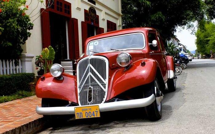 guidare in laos
