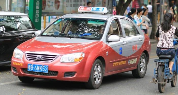 Taxi a Shenzhen