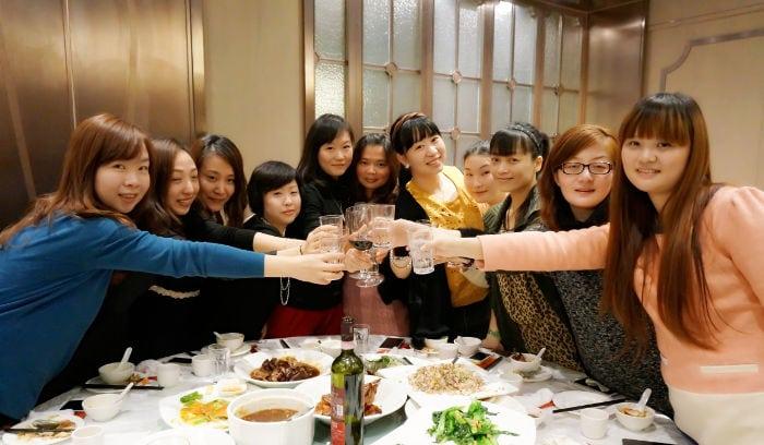 rapporto colleghi cinesi