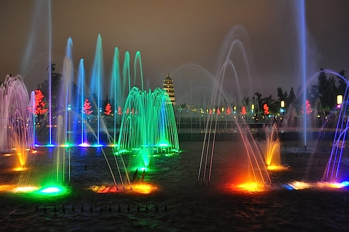 Fontana luci