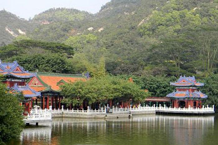 Il Palazzo d'Estate di Zhuhai