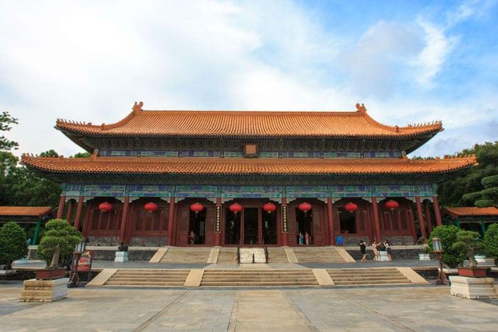 Il Tempio di Zhuhai
