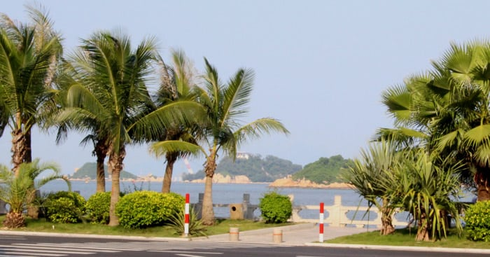 La lover's Road a Zhuhai