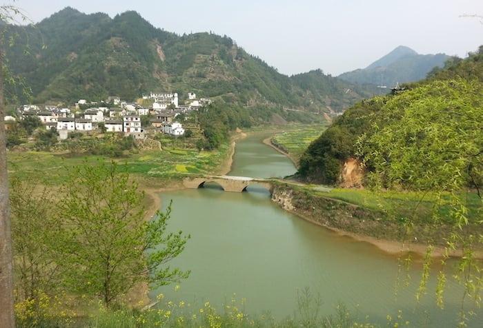 La campagna dello Anhui
