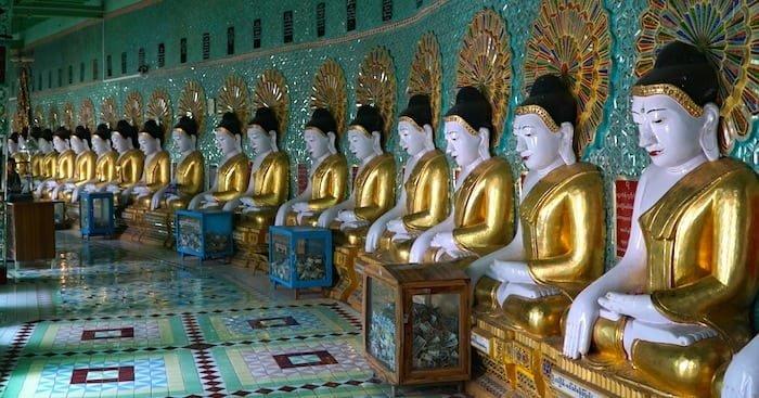 Sagaing vicino a Mandalay