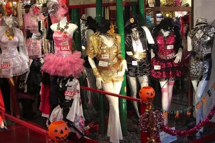 Un negozio di abbigliamento ad Harajuku
