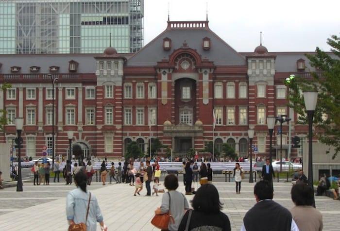 Stazione di Tokyo in stile europeo
