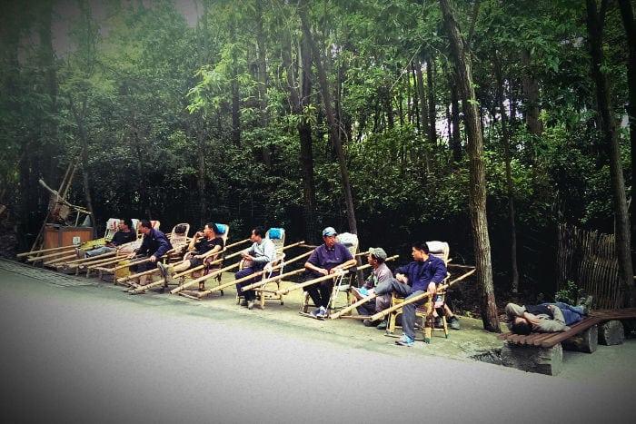 Hunan, portantine