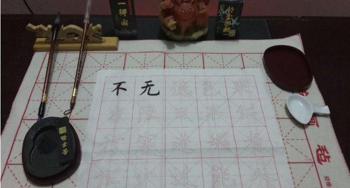 L'arte della calligrafia in Cina