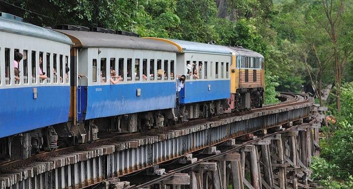 Viaggiare in treno in Thailandia