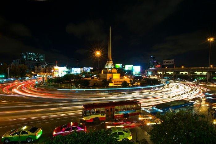 arrivo a Bangkok