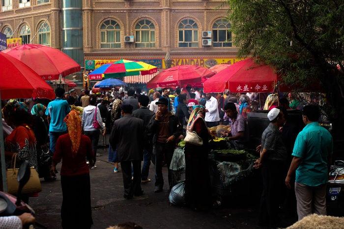 Centro città, Kashgar