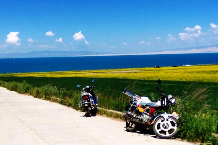Lago di Qinghai