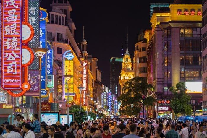 shopping a shanghai