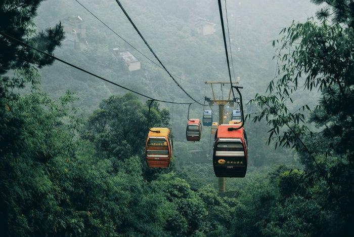Trasporto a Chongqing