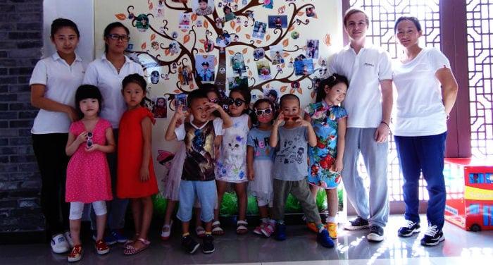 Insegnanti d'Asilo in Cina