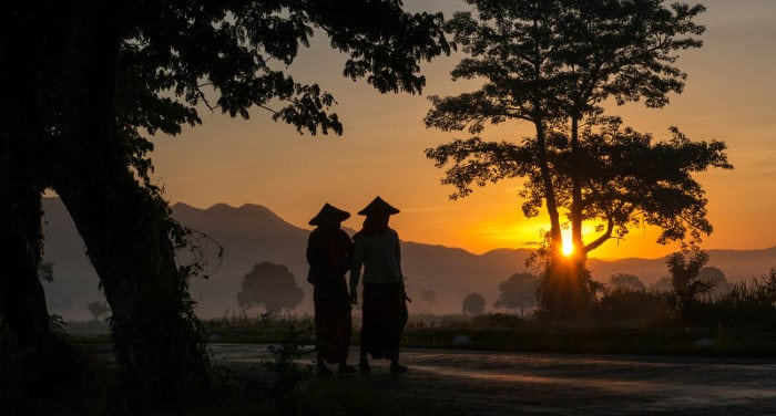 Viaggio a Mandalay