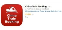 China Train Booking