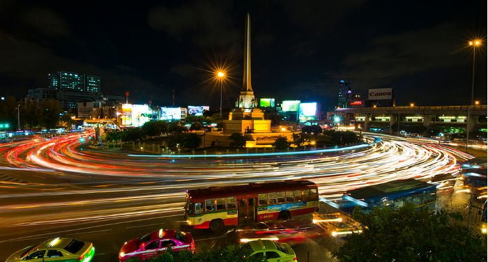 Victory Monument a Bangkok