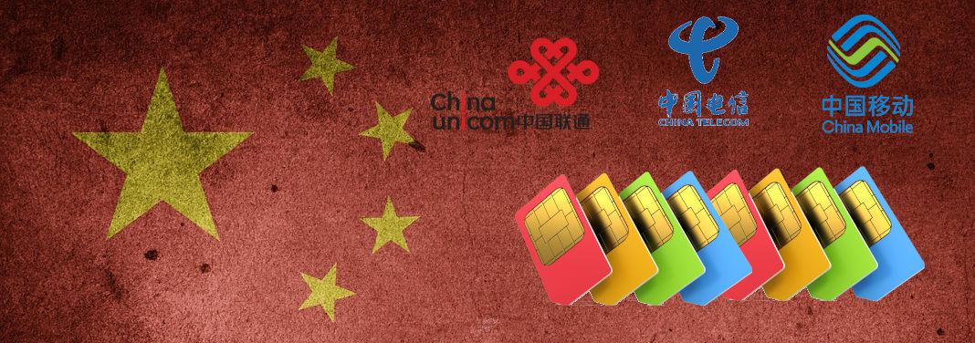 SIM Dati per la Cina