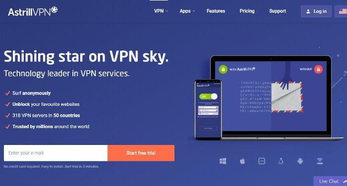 Recensione di Astrill VPN