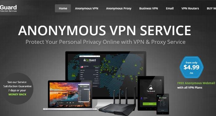 Recensione di TorGuard VPN