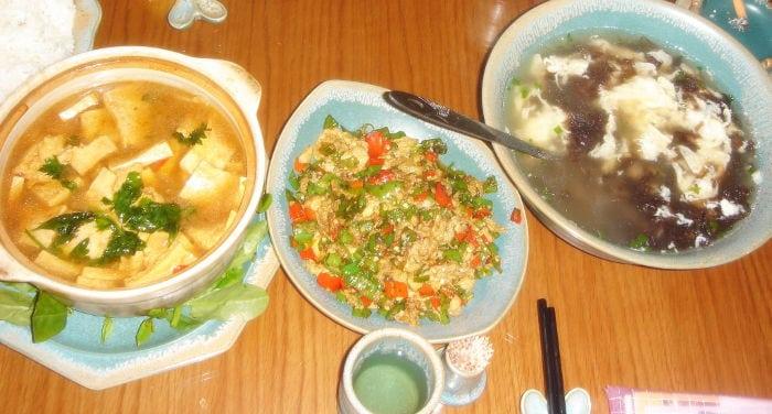 cena a casa di amici