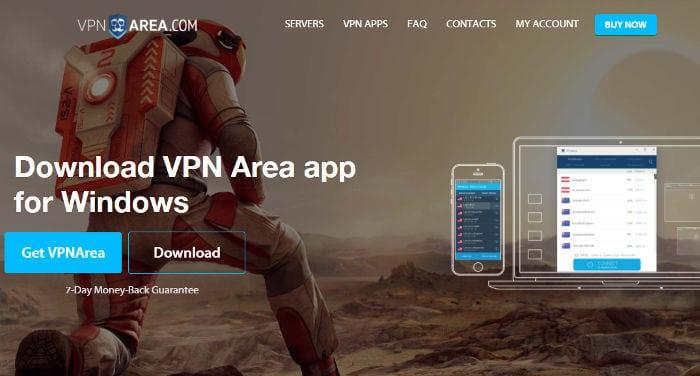 Recensione di VPN Area