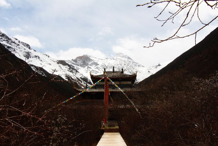 Il Tempio di Huanglon
