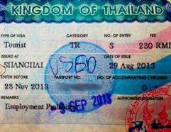 Visto Thailandese